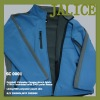 Men Bounded Winter Jacket Softshell Lined with Peach Skin