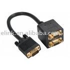 VGA to two VGA cable