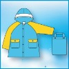Colorful design Professional OEM Raincoat,made of Polyester