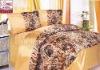 100%polyster satin bedding set/comforter set/satin pillow case
