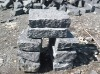 natural basalt cube stone