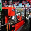 automatic hydraulic pipe punching machine