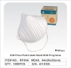 silk floss dust mask face mask particulate mask