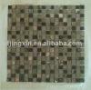 mixed stone mosaic,glass and stone moasic