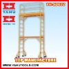 6FT construction scaffolding tower with guardrail