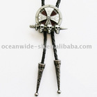 Bolo Tie (3D Celtic Skulls With Sword)