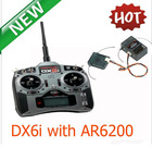 2012 Hottest sales in My store ! DX6i with AR600 6ch 2.4G RC Radio Transmitter and receiver with LCD displayer left hand