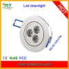 3pcs 1W hight bright E27 led ceiling downlight with CE,ROSH,FCC