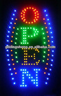 Illuminated OPEN ledsign /led open sign