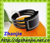 12510 black elastic stainless steel bracelet