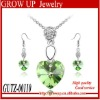 2012 newest trendy cheap jewelry sets