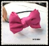 fabric hair bow headband H10464