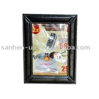 PU Photo Frame Sized 15.3 x 20.5cm, OEM Orders are Welcome