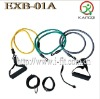 3 levels Resistance Bands Kit with metal hook