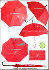 "22"" red dome wedding umbrella"