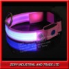 2012 hot sale flashing light dog collar