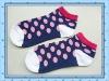 Girl's colorful cotton socks/OEM service