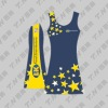2012 new custom netball uniform bodysuit promotional