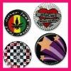 tinplate button badges