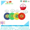 Salable 190T Fabric Pearl Cotton Pipe Frisbee Flying Disc Toy