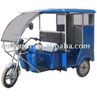 Tricycle with electric motor