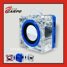 Crystal multifunction mini PC speaker E38
