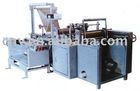 Photoelectricity controlling sanitary towel edge sealing bag making machine