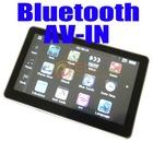 5 inch HD bluetooth 128M RAM 800 x 480 free 4gb memory mp3 mp4 map free 5 inch Car GPS Navigation