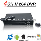 4CH/Channel H.264 Standalone Digital Video Recorder Network DVR CCTV Security Surveillance AT-DVRW4