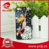 Cell phone Rhinestone mermaid diamond stone case for apple 4g/4s/5