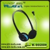 Hot selling cheap headphone,3.5mm wired with microphone