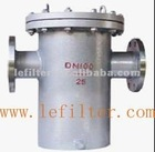 Basket water filter strainer DN80