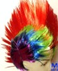 Rainbow Mohawk world cup Wig