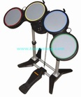 4 in 1 wireless drum kit for PS2/PS3/WII/PC,for WII/PS2/PS3/PC 4 in 1 wireless drum kit