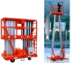 Aluminium aerial Work Platform double mast with CE
