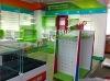 Retail produce store fixtures/garment store furniture store fixtures/clothing store fixtures