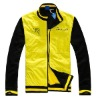 Long sleeve varsity sports cycling sports and leisure wind stopper and waterproof jacket for 2013