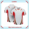 Fashion pattern top quality football uniforms SJ5054