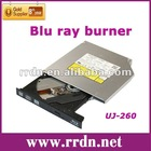 Laptop SATA Blu ray burner/Matshita BD Burner UJ260(Can read 100g blu ray disc)