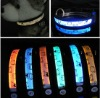 shining LED nylon pet collar for dog