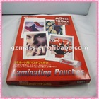 A4 mobile thermal photo 3d laminating film for protection