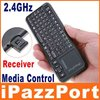 iPazzPort runssian mini wireless keyboard with 2 mode IR Remote