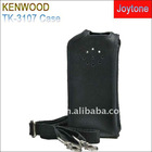 Enjoy sales wireless walkie talkie leather case (TK-3107)