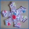 colorful design children ankle socks YDC-255