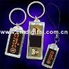 Solar logo keychain, solar flash logo keychain,flashing logo keychain,logo keychain,solar keychain