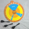 custom round magnetic dartboard