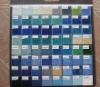 Porcelain Swimming Pool Tile 73x73mm