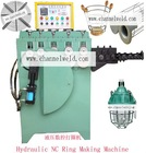 Flat round ring machine