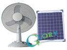 Solar powerd fan
