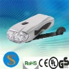 3 super white LEDs dynamo flashlight rechargeable torch